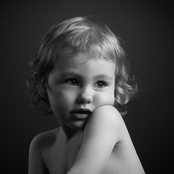 Portrait studio : 1 petit ange
