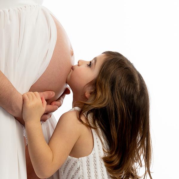 Séance Grossesse – Maman et sa fille